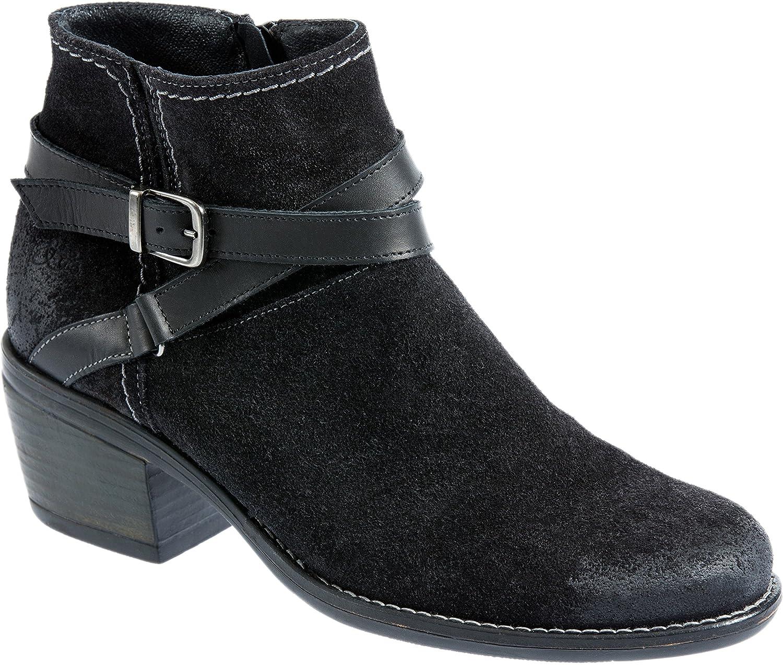Bos. & Co.. Women's Greenville Western Boot B075882FJJ EU37|Black/Black