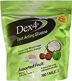 Dex4 Glucose Tablets,Assorted Fruit Medley, 100 Count
