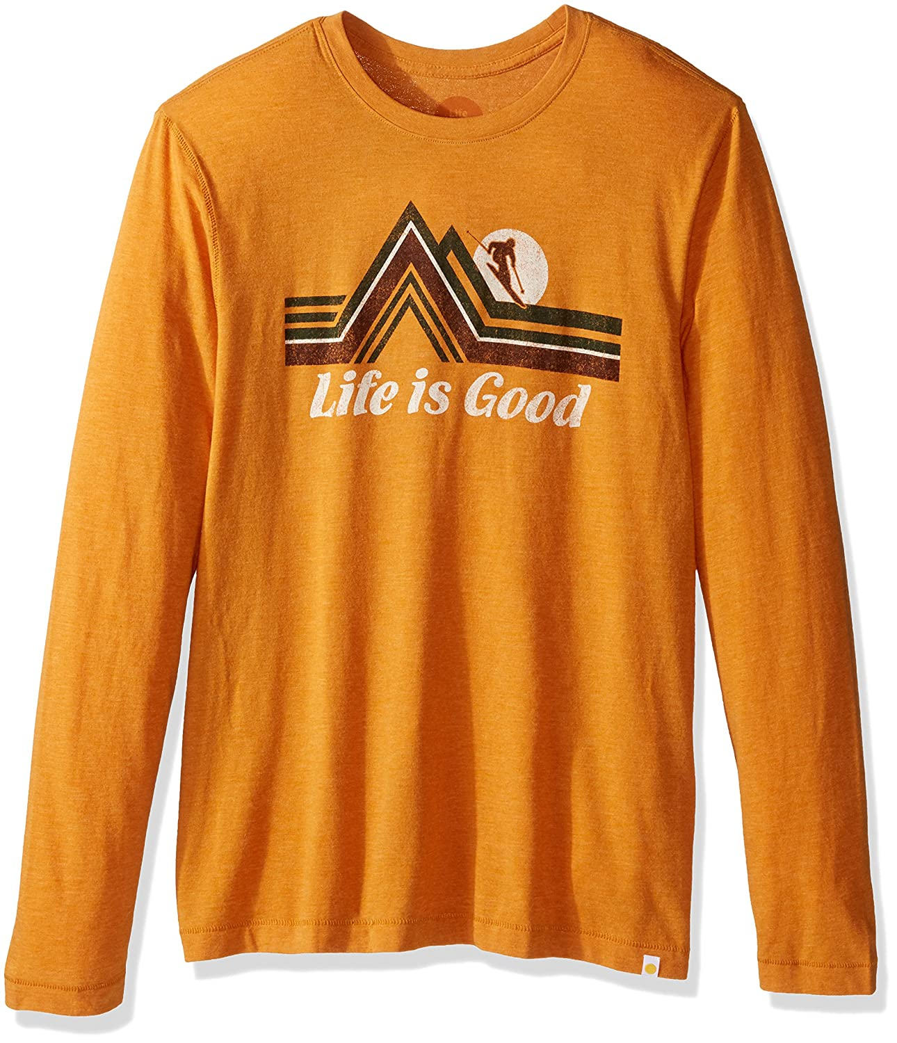 Artisan Gold The Life is good Company Life is Good Cool Downhill Geo Tee