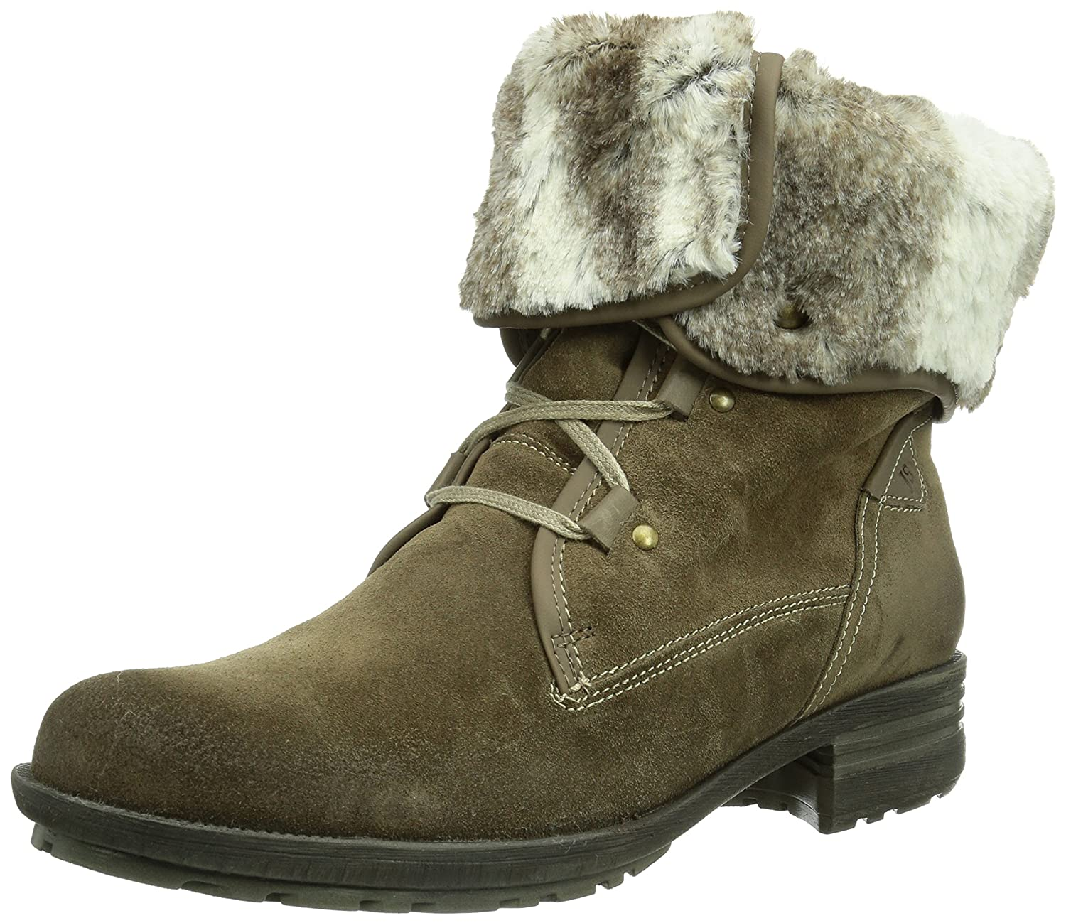 e4594279130a3 Josef Seibel Women s Sally Fur Lined Ankle Boots