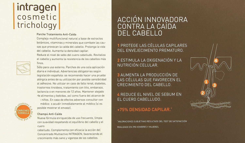 Tratamiento anti caida pack parches intragen: Amazon.es: Belleza