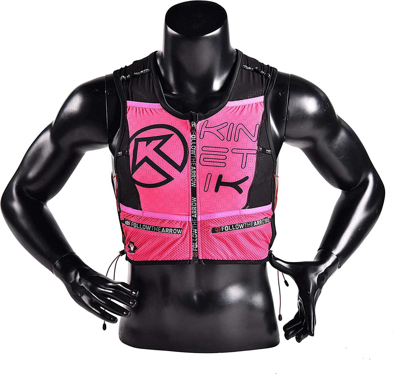 Kinetik Ultra Trail Running Hydration Pack Backpack 8L Lightweight Hydration Vest Mochilas for Outdoors Marathoner Running Race,Hiking, Cycling, fits Women Men Kids(5 Colors)