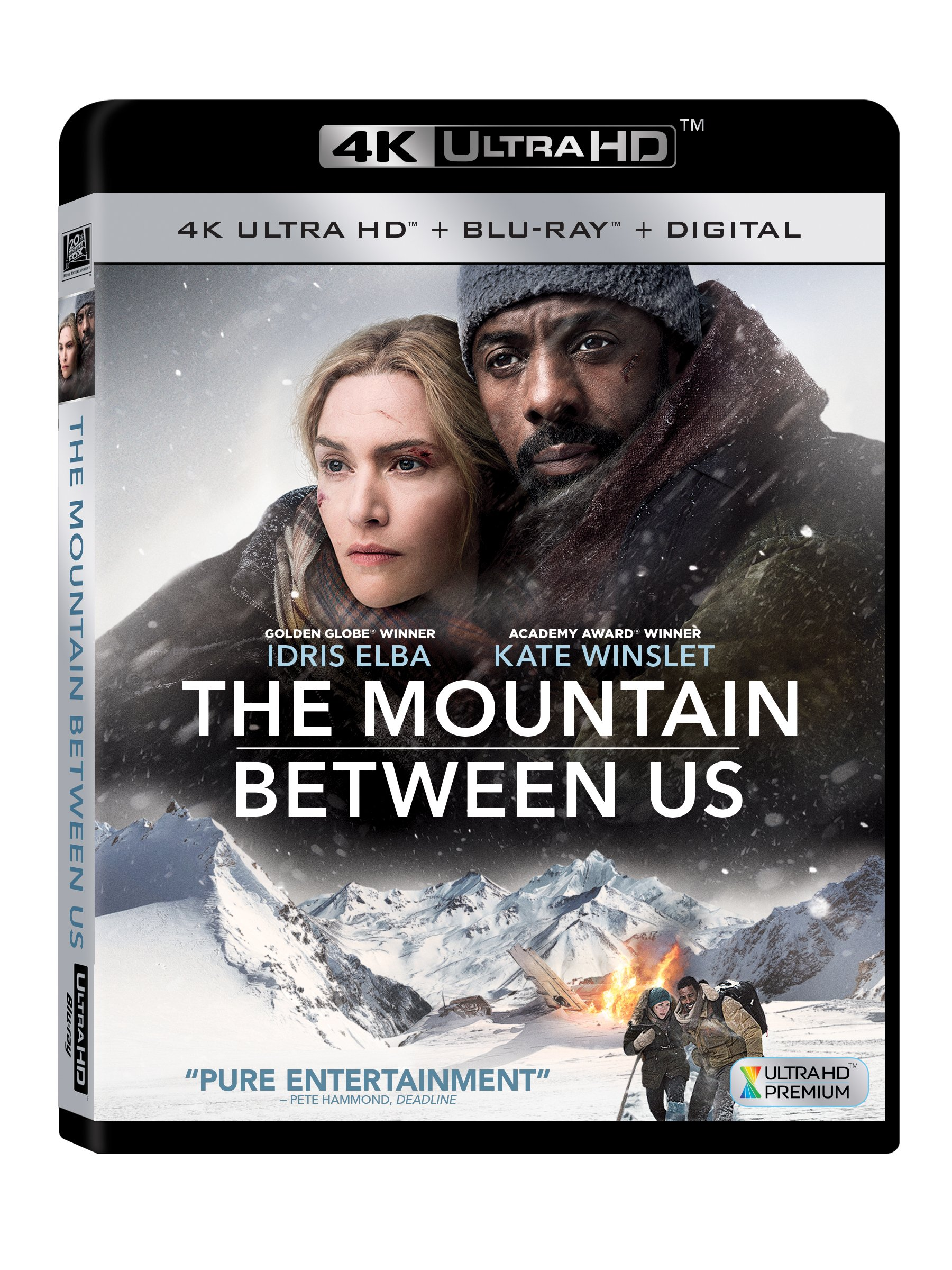 4K Blu-ray : The Mountain Between Us (With Blu-Ray, 4K Mastering, 2 Pack, Digitally Mastered in HD, 2 Disc)