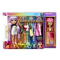 Rainbow High Fashion Studio – Includes Free Exclusive Doll with Rainbow of Fashions and 2 Sparkly Wigs to Create 300+ Looks | Clothes & Accessories | for Kids Ages 3+
