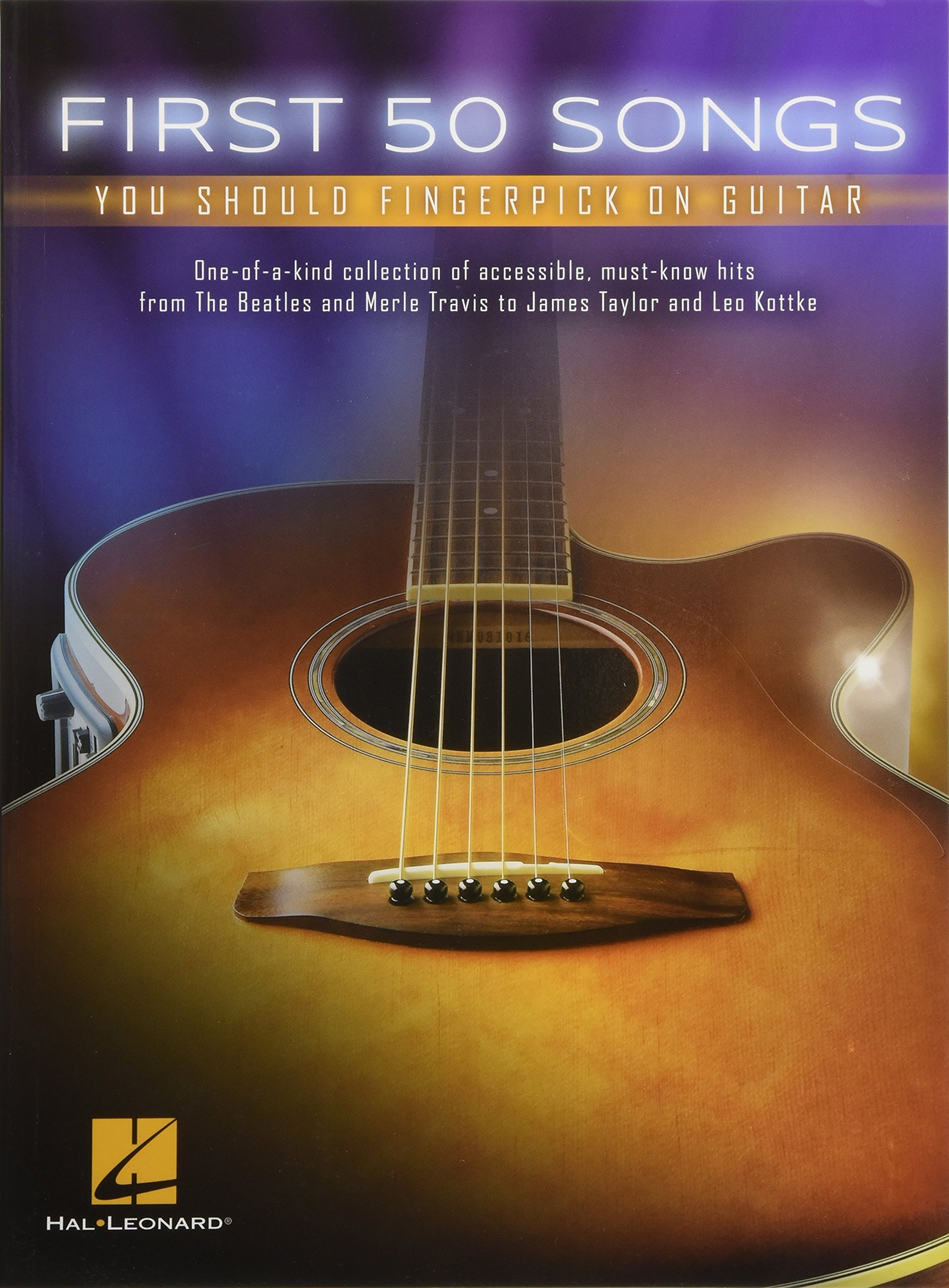 Amazon.com: First 50 Songs You Should Fingerpick On Guitar (9781495031175):  Hal Leonard Corp.: Books