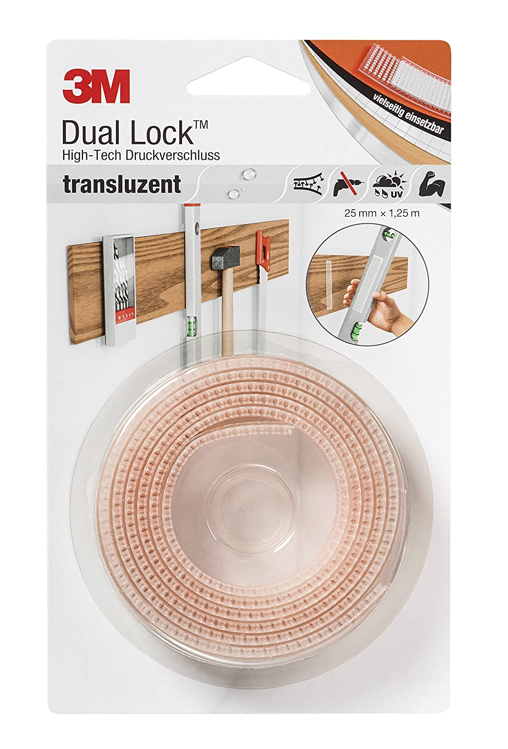 Fasteners 3M Dual Lock for furniture covers 72