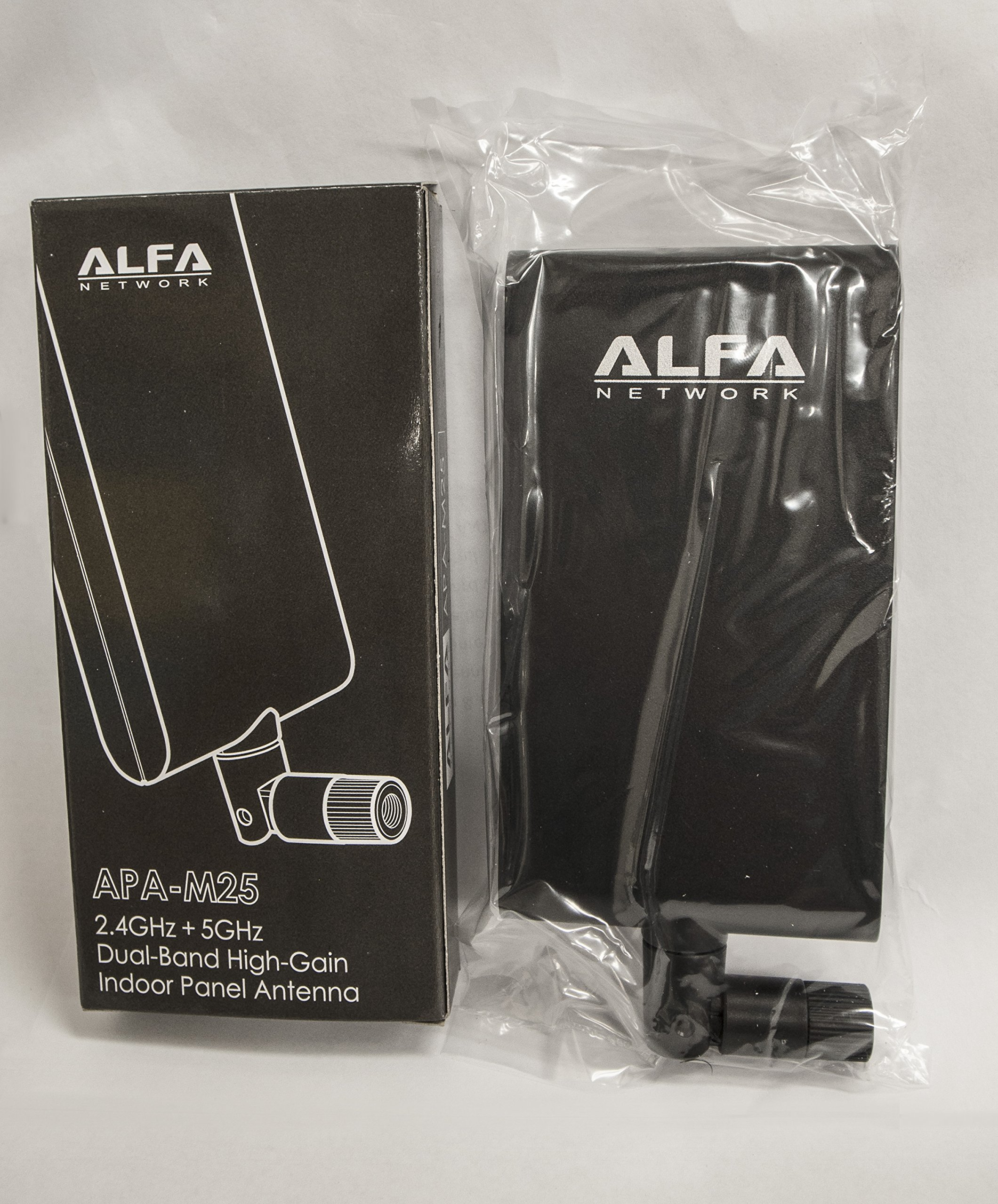 Alfa APA-M25 dual band 2.4GHz/5GHz 10dBi high gain directional indoor panel antenna with RP-SMA connector (compare to Asus WL-ANT-157) by ALFA (Image #8)