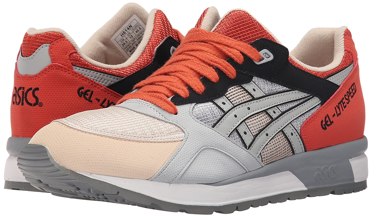 ASICS GEL Lyte Speed Retro Running Shoe B00ZQ9D0WA 4 M US|Light Grey/Light Grey