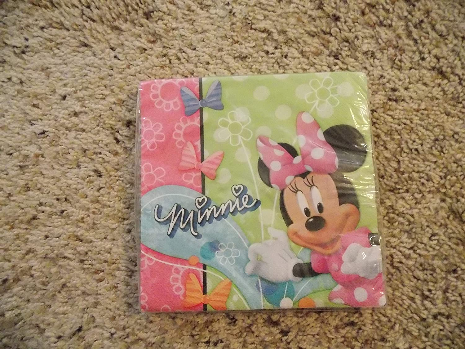 Amazon.com: Minnie Mouse – Servilletas para fiesta Minnie ...