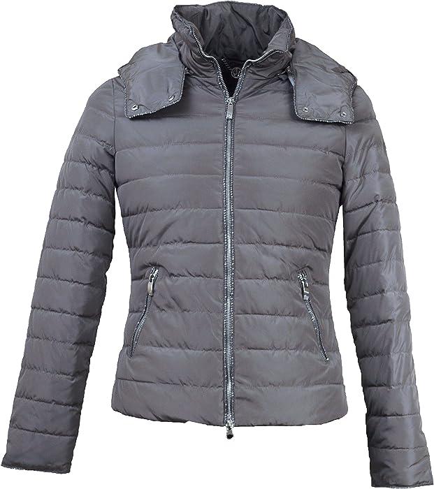 8eef787d0 Armani Jeans Womens`s Hooded Down Jacket SZ5B32 UA Taupe (Medium ...