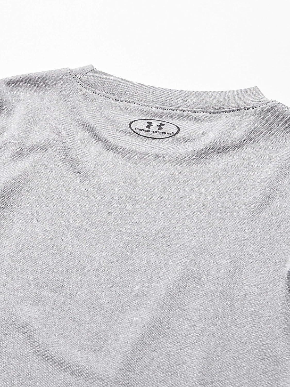 Moderate Gray 24M Under Armour Baby Boys Short Sleeve Big Logo Tee Shirt and Short Set Shirt