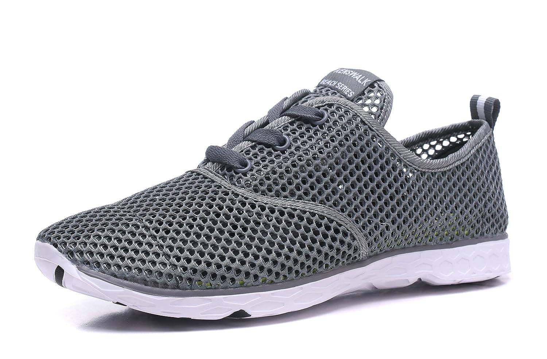 Kenswalk Men's Aqua Water Shoes Lightweight Quick Drying Beach Shoes