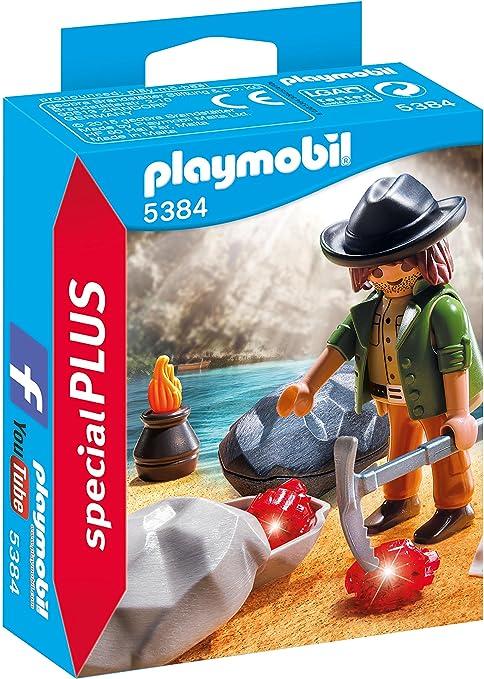 Playmobil Buscador de Gemas 5384: Amazon.es: Juguetes y juegos