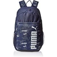 Puma Style Backpack Peacoat-camo Aop Blue Bag For Unisex, Size One Size