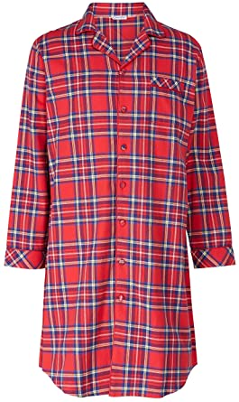f53ff1456482 Mens Premium Luxury Check 100% Cotton Long Sleeve Button Collared ...
