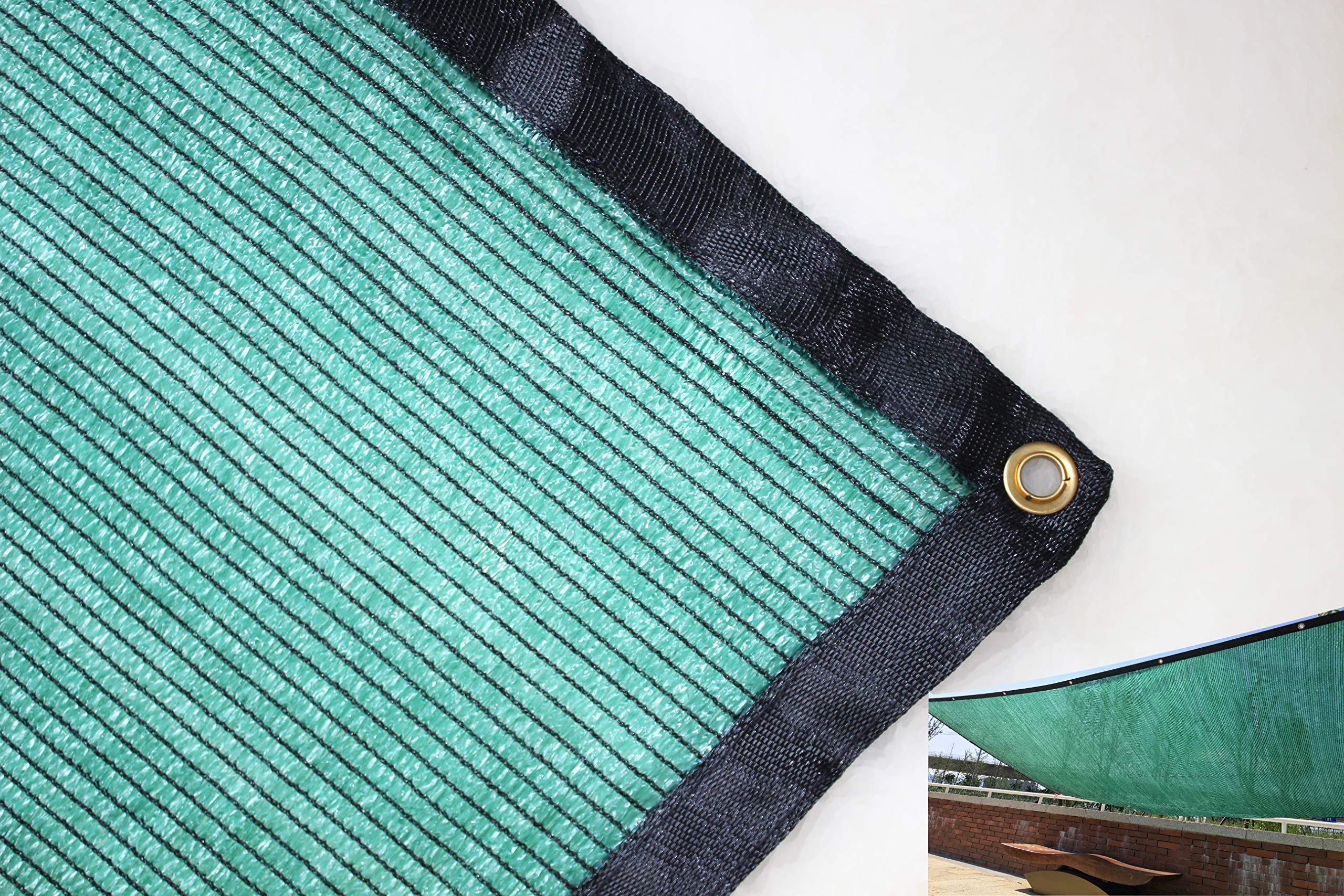 YGS 40% Green 20 ft x 24 ft Shade Cloth UV Resistant Net For Garden Flower Plant by YGS88