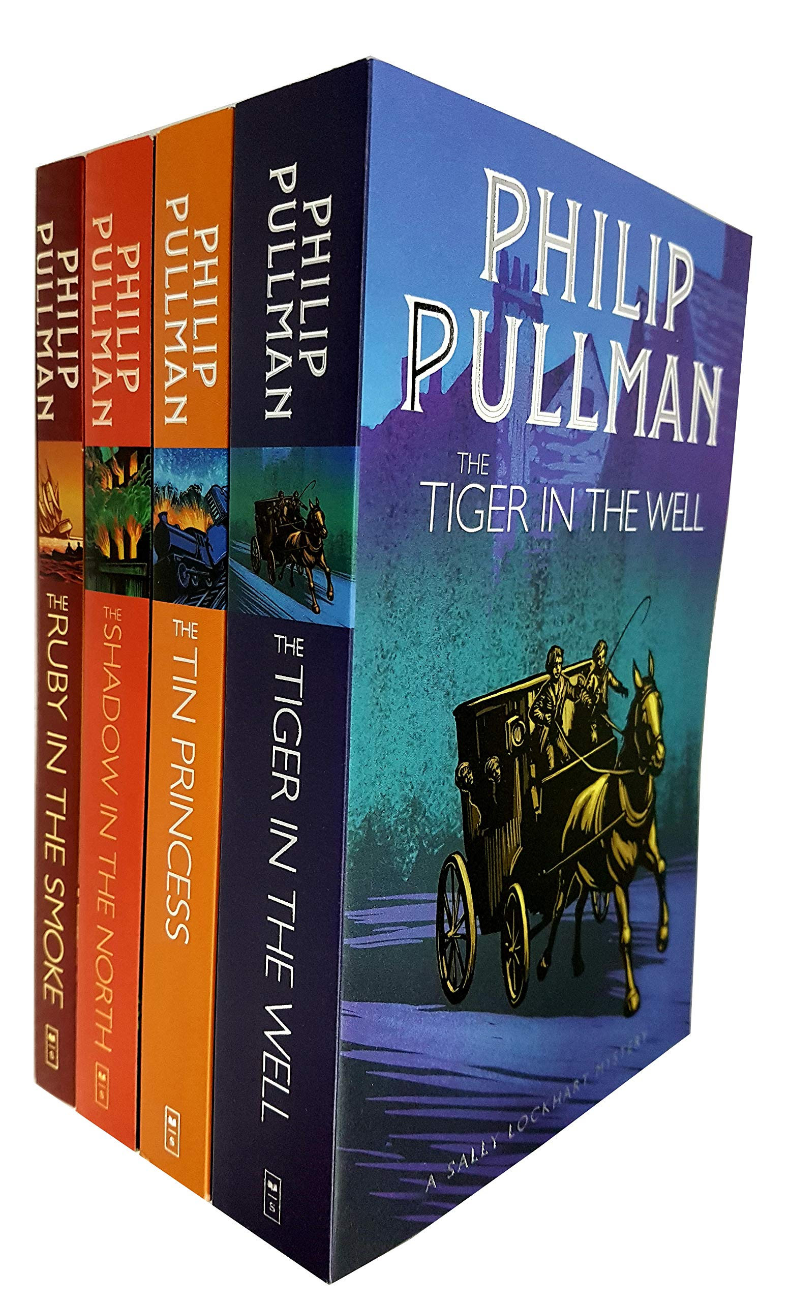 b17ff24428 Sally Lockhart Mystery Collection Philip Pullman 4 Books Set-The ...
