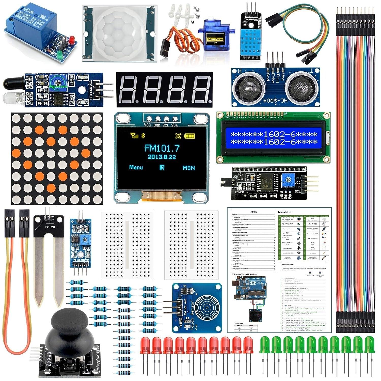 Arduino Kit Module Sensor with 0 96