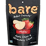 bare Baked Crunchy Medleys, Apple Strawberry, 1.6oz Single Serve Bags (6 Pack)