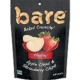 bare Baked Crunchy Medleys, Apple Strawberry, 1.6oz Single Serve Bags (6 Pack)