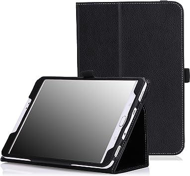 MoKo Etui Samsung Galaxy Tab S2 8.0 - étui Fin et Pliable pour Tablette Samsung Galaxy Tab S2 8.0 Pouces, NOIR