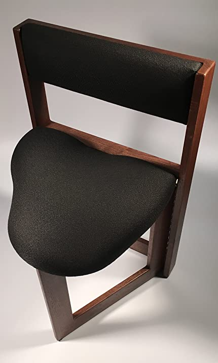 Amazoncom The Original Guitar Chair 19 Inch Seat Height Walnut