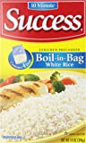 Success Boil-In-Bag White Rice, 4 Ct, 14 oz (Pack of 1)