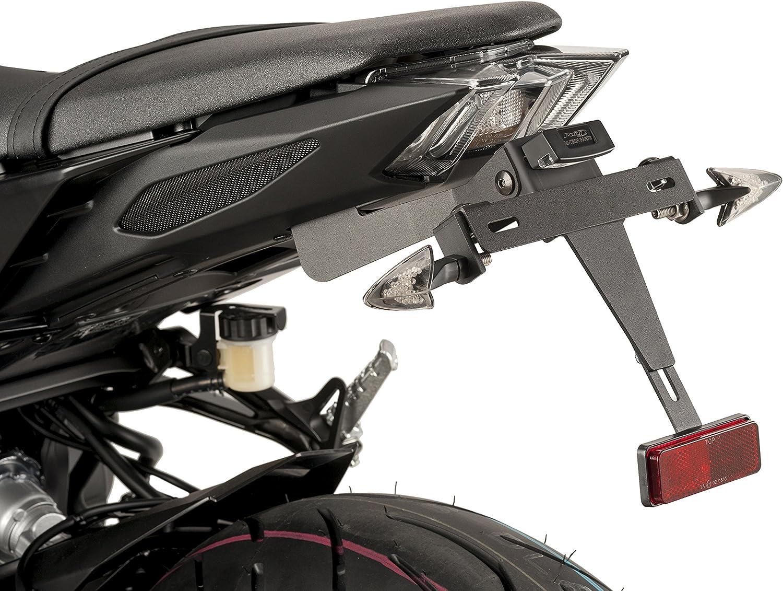Puig 9379N Supporto per Portatarga per Yamaha 17 Mt-09 Sp 18 Nero
