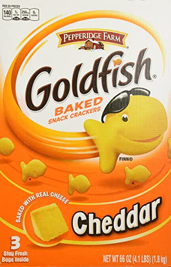 Image result for goldfish crackers photo