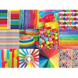 1000 Piece Puzzle for Adults - Colorful Collage Jigsaw Puzzle