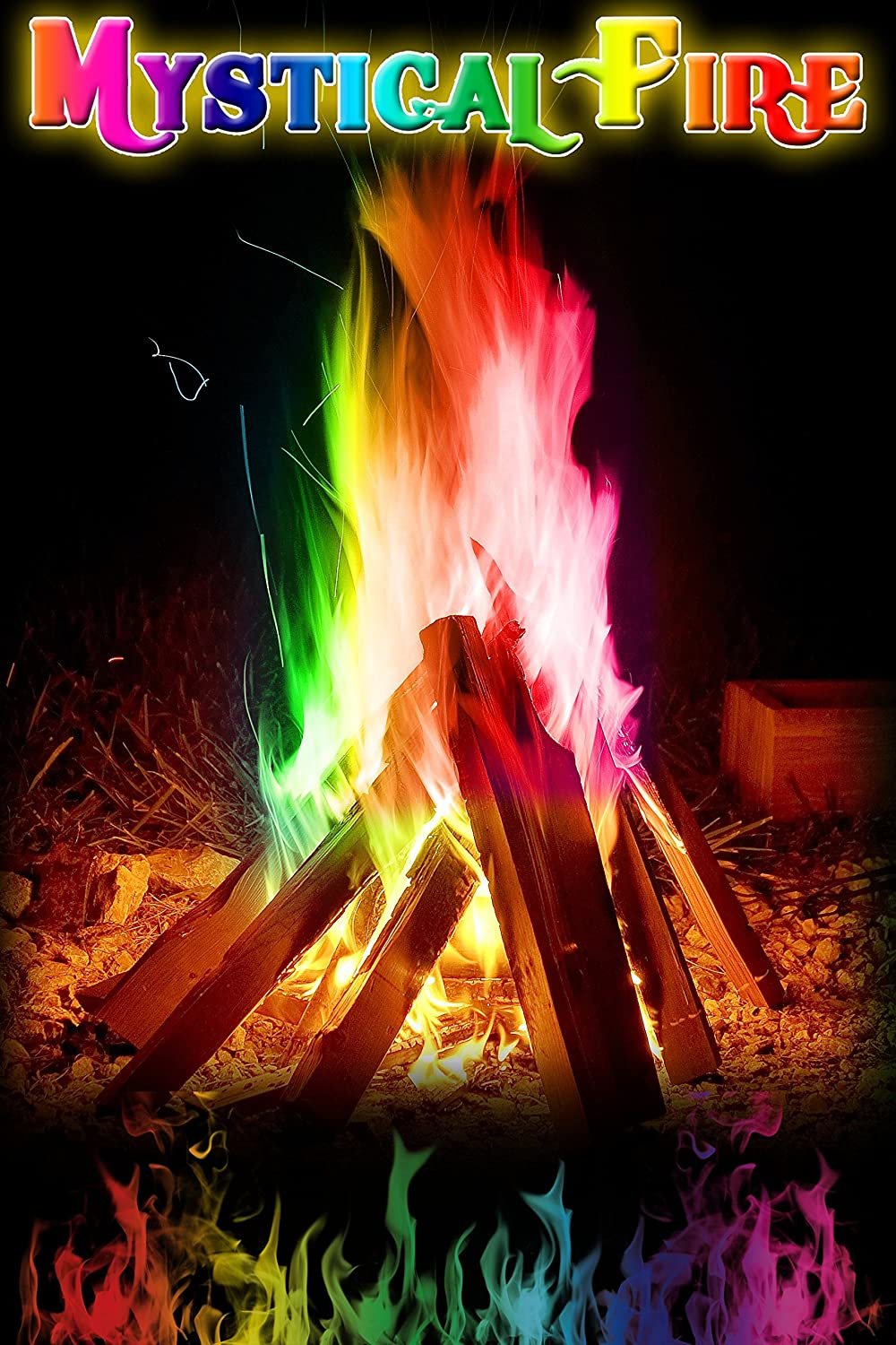 Fire Flame Colorant made our list of 10 fun activities and campfire games for families with kids
