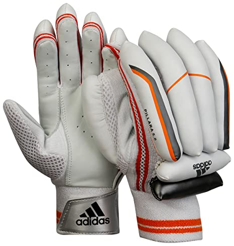 e9d4d0e1eee Buy Adidas Pellara 5.0 BLH Cricket Batting Gloves Online at Low Prices in  India - Amazon.in