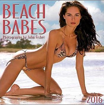 Amazon.com: 2016 Beach Babes Wall Calendar: Home & Kitchen