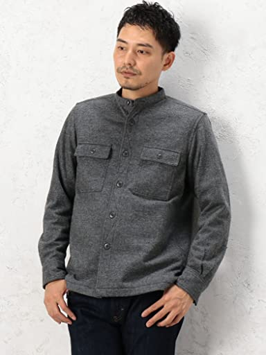 Genuin Garment CPO Jacket 3225-186-2235: Mid Grey