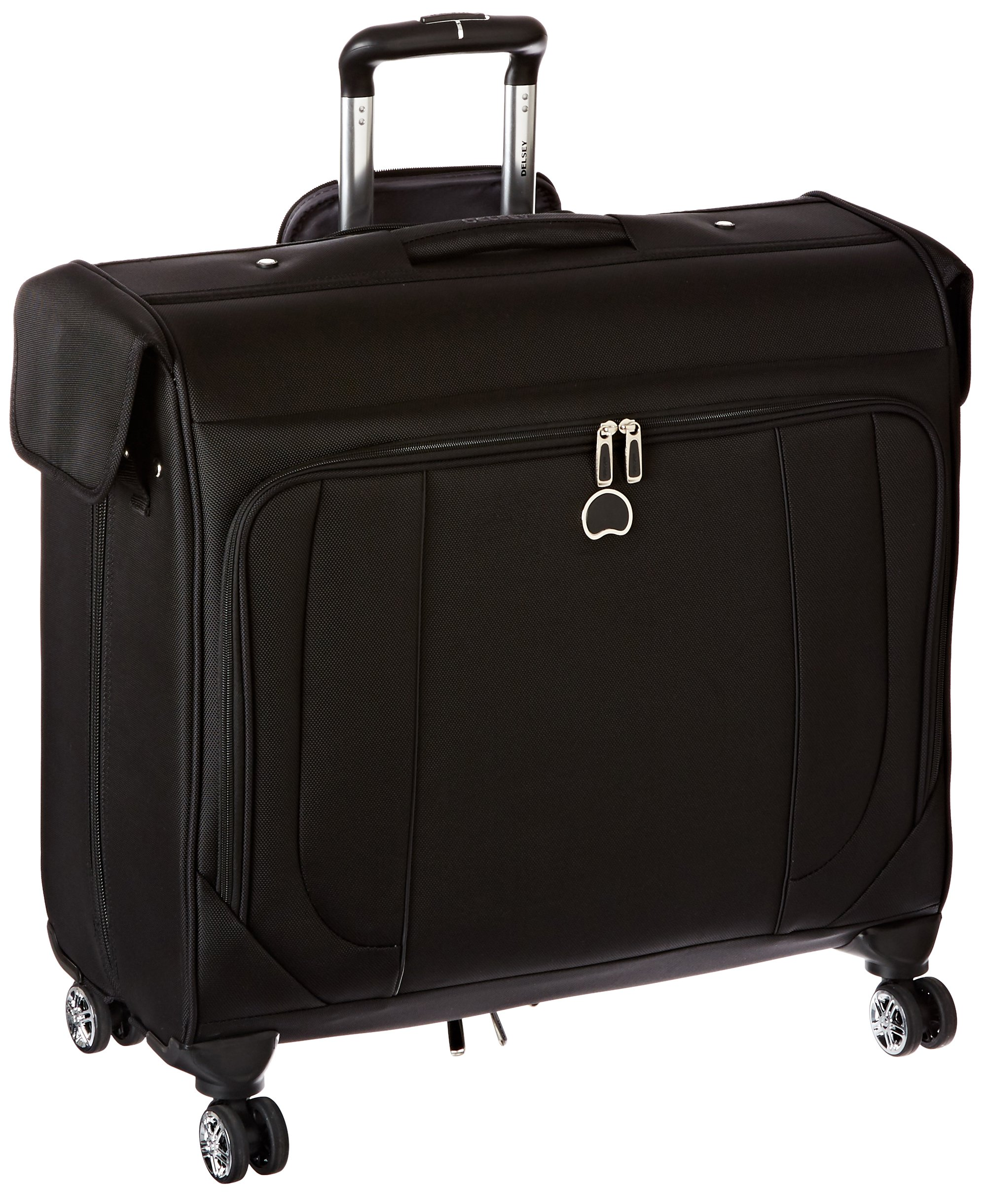 Delsey Luggage Helium Cruise Spinner Trolley Garment Bag, Black, One Size