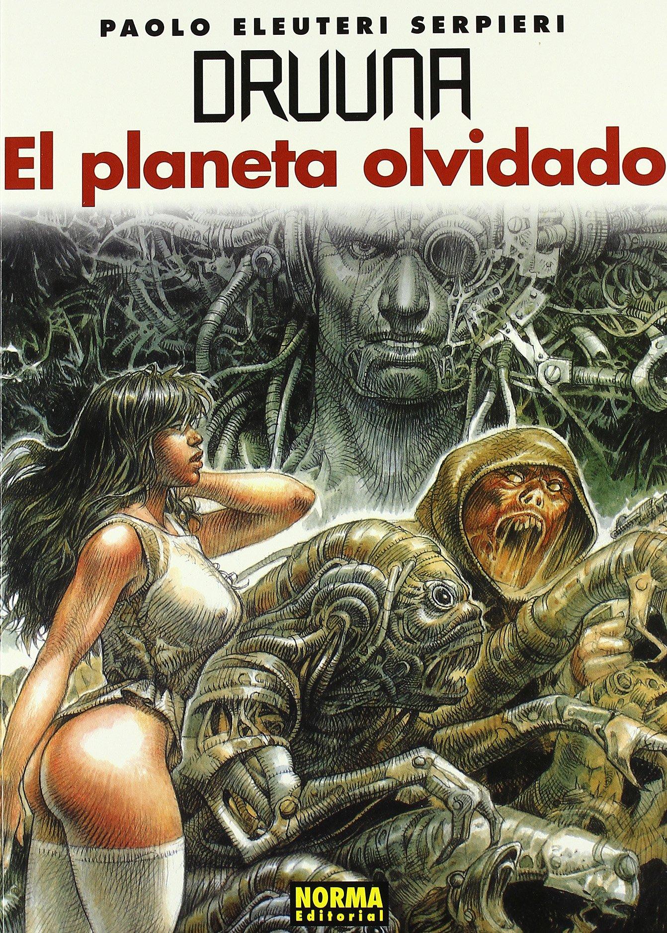 DRUUNA 7: EL PLANETA OLVIDADO (SERPIERI): Amazon.es: Serpieri: Libros