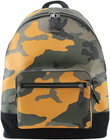 15ed4d19d Amazon.com | COACH WEST BACKPACK WITH CAMO PRINT, F28310 | Casual ...