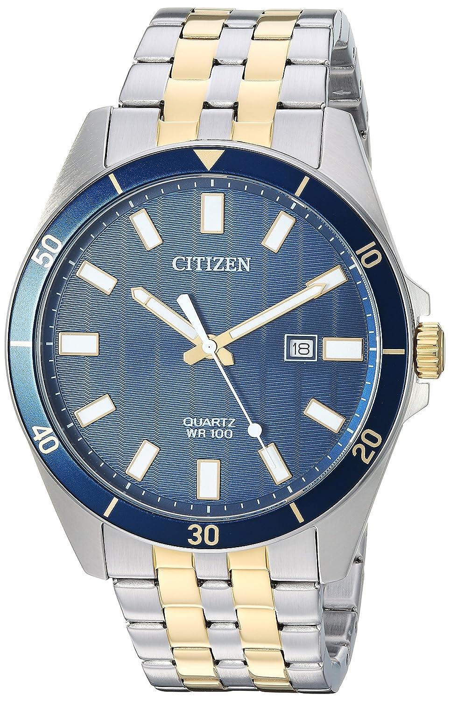 Citizen Men s Quartz Stainless Steel Casual Watch, Color Two Tone Model BI5054-53L