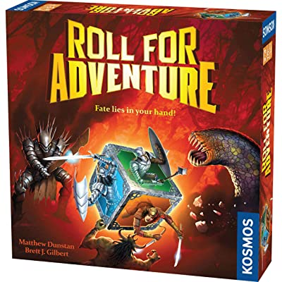Roll for Adventure - A Kosmos Game from Thames & Kosmos | A Cooperative Dice-Rolling Fantasy Game for 2-4 Players, Ages 10+: Toys & Games