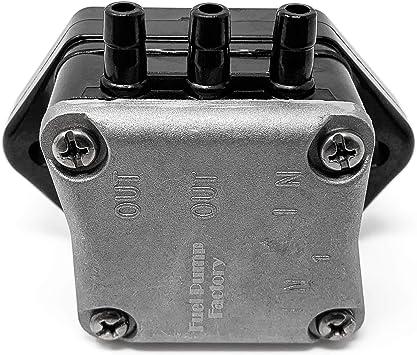 Outboard Fuel Pump 62Y-24410-02-00 for Yamaha Marine 25-60HP 4-Stroke