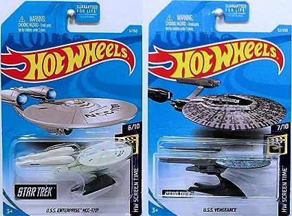 Hot Wheels 2019 HW Screen Time Star Trek U.S.S Vengeance 52//250
