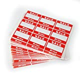 "Sale Price Self Adhesive Sticker, 2"" L x"
