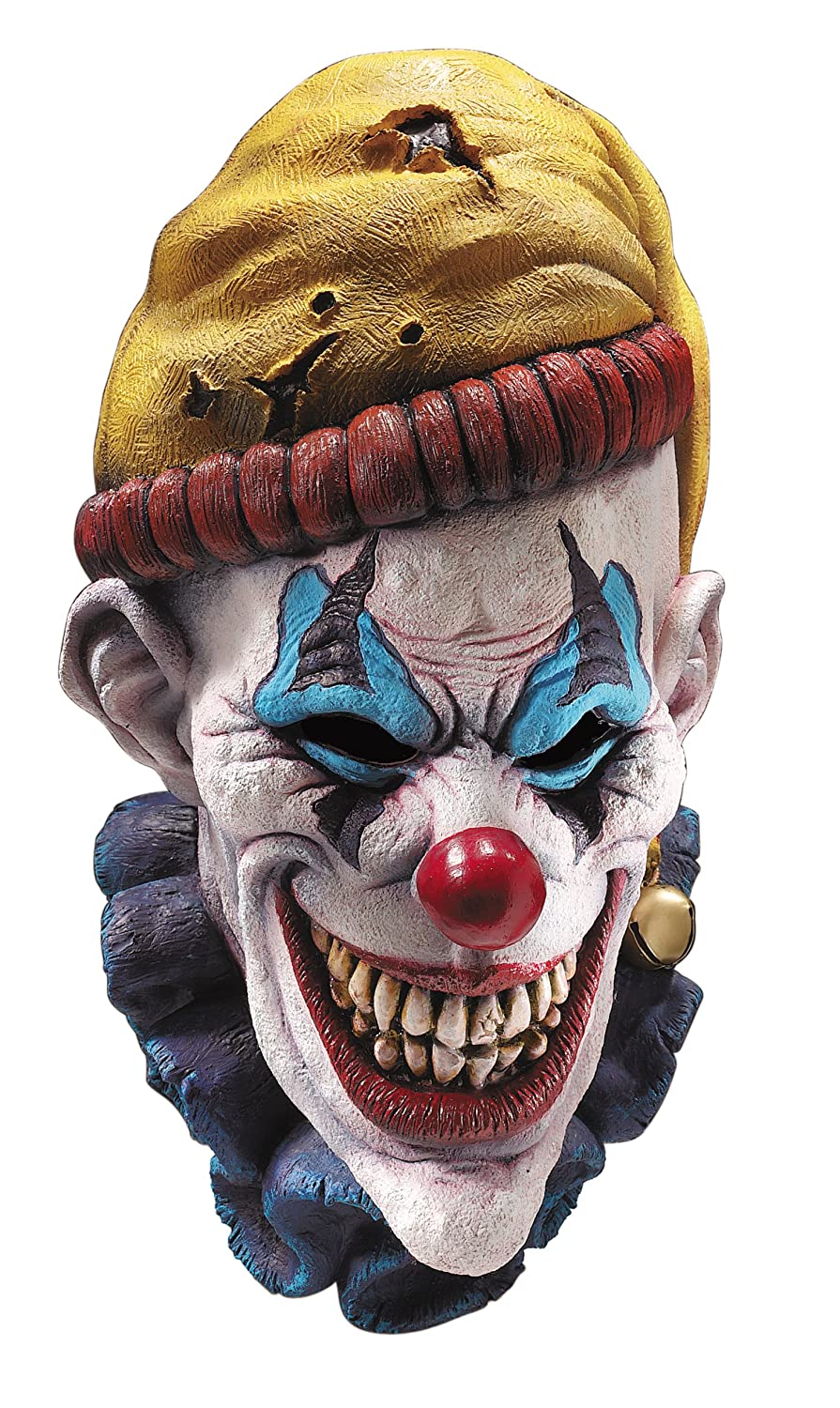 Amazon.com: Rubie's Costume Insano The Clown Overhead Mask, Multi ...