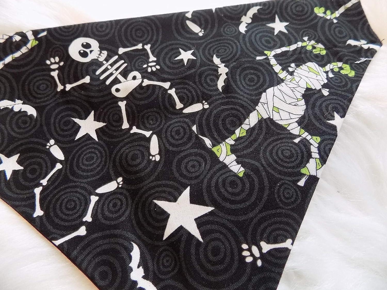 Halloween Skeltons dog bandana