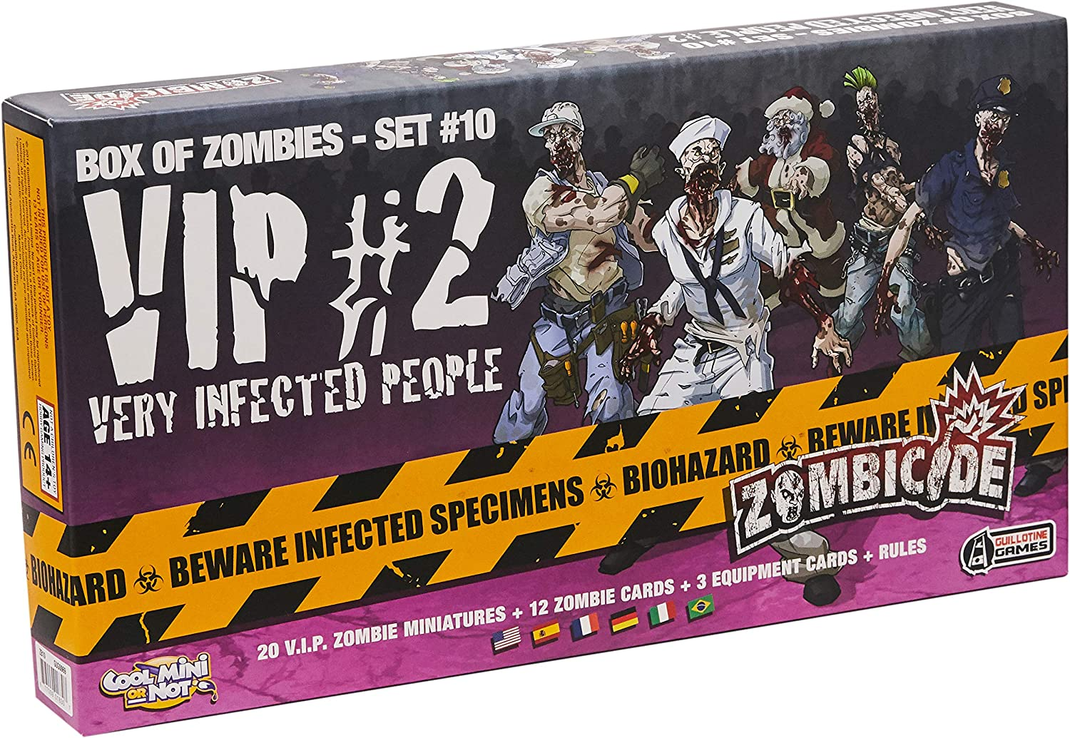 Edge Entertainment - VIP: Very Infected People 2, expansión para Zombicide (ZG69): Amazon.es: Juguetes y juegos
