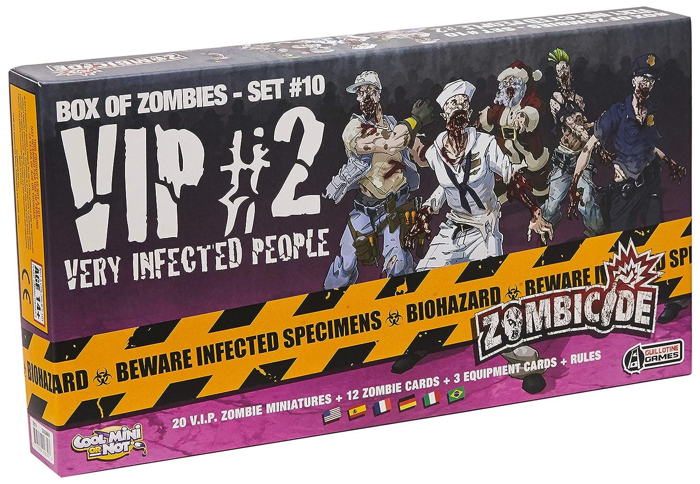 Edge Entertainment - VIP: Very Infected People 2, expansión para Zombicide (ZG69): Amazon.es: Juguetes y juegos