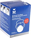 Mercer Industries D10002 Disposable Dust Masks with Adjustable Nose-Clip (50 Pack)