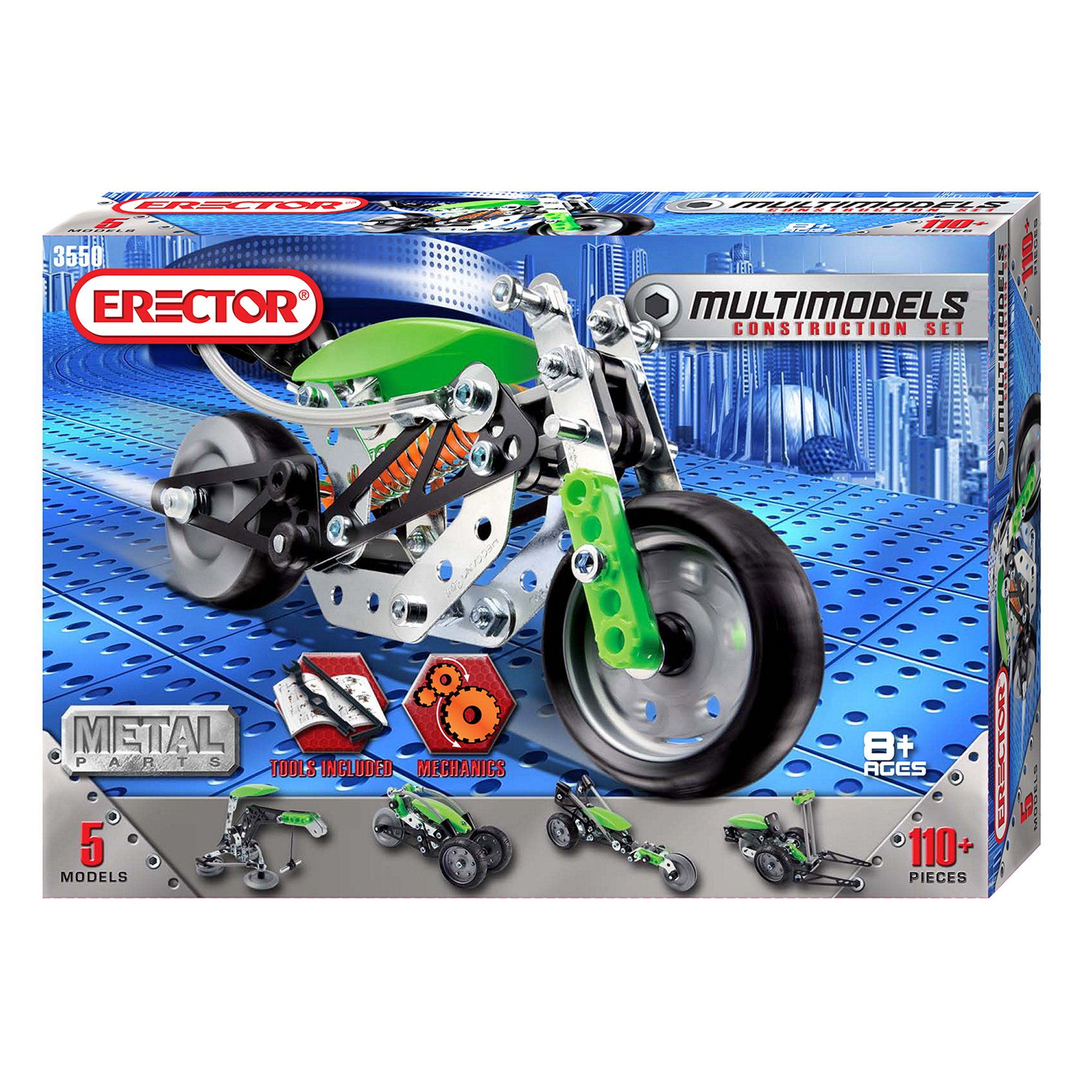 Meccano-Erector – Multimodel – 5 Model Set