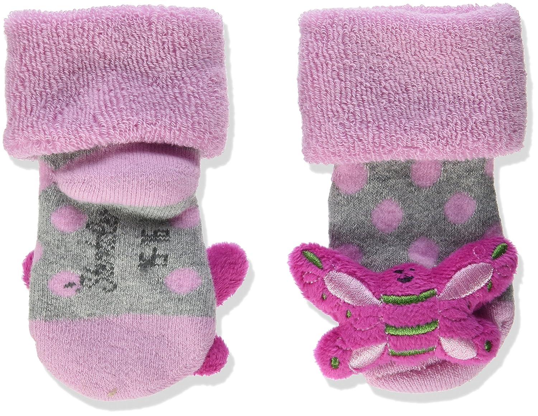 Sterntaler Baby-Rasselsöckchen Bär Alter: 4-6 Monate Größe: 16 Violett (Knallviolett) 8341802
