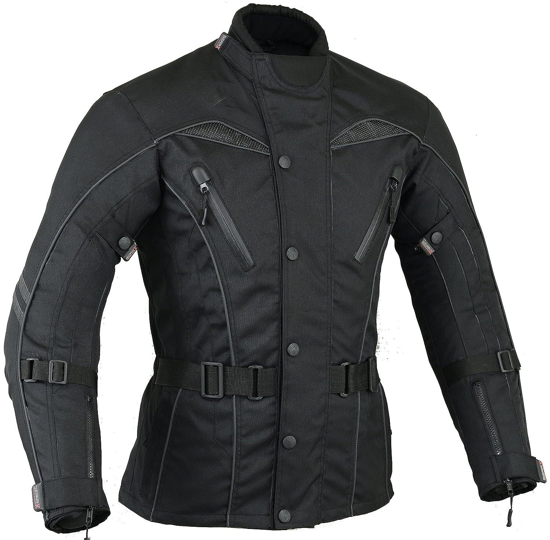 Talla XL Urban Motocicleta Hombre Motos Viento impermeable chaqueta transpirable
